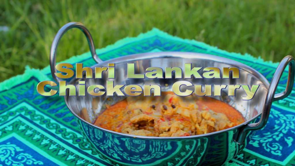 Shri Lankan Chicken Curry