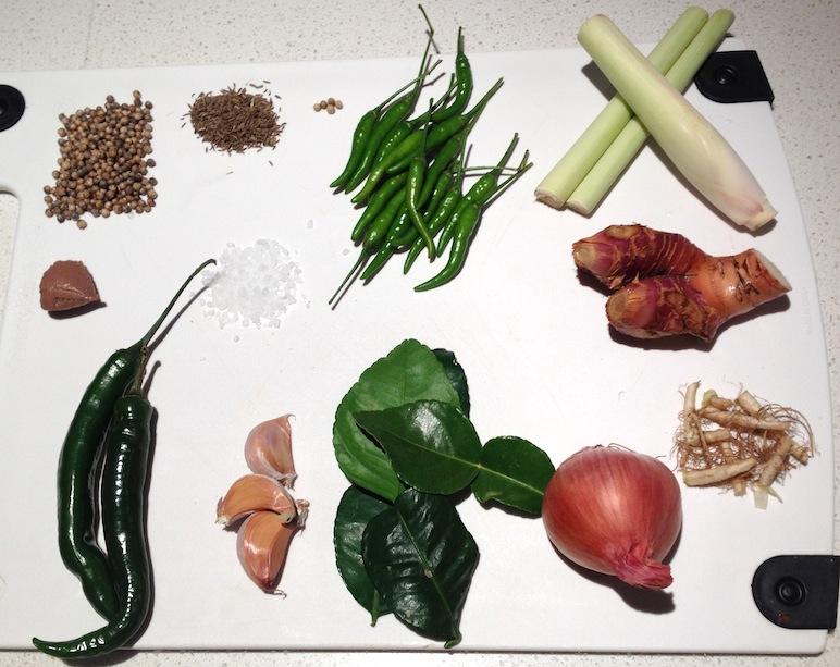 Thai Green Curry Paste Ingredients