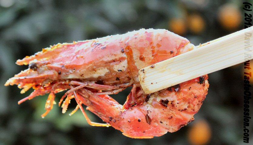 Chilli Prawns / Shrimp with Shell
