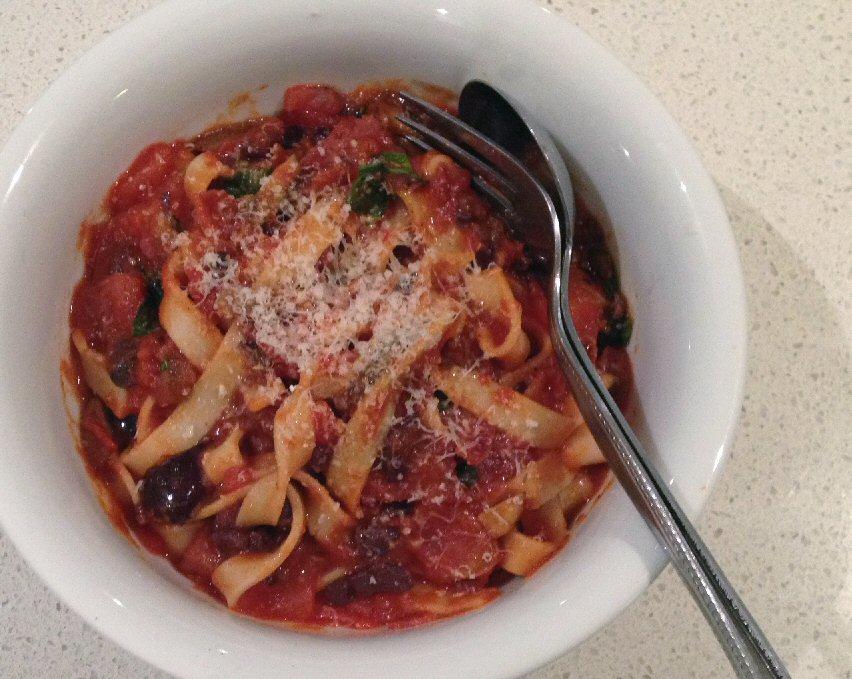 Pasta Piccante - Served