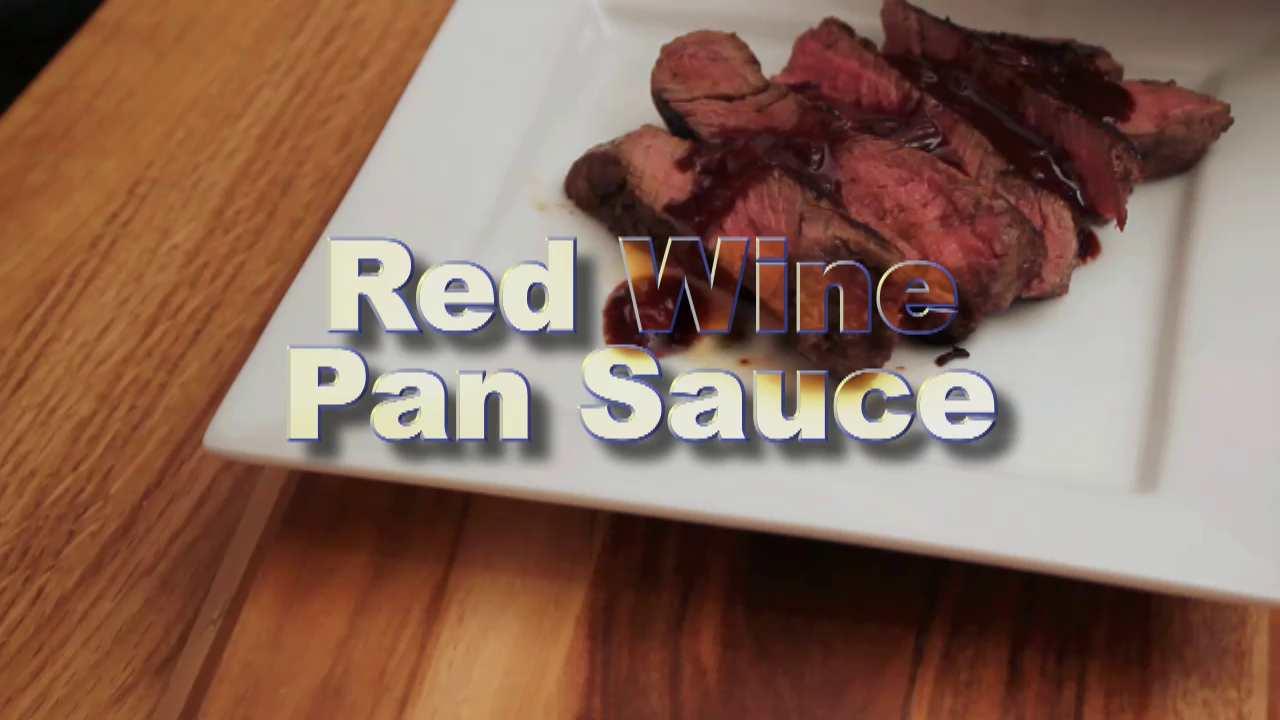 Red Wine Pan Sauce - TasteObsession.com